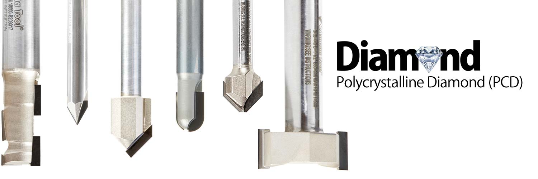 CNC Diamond (PCD) Router Bits
