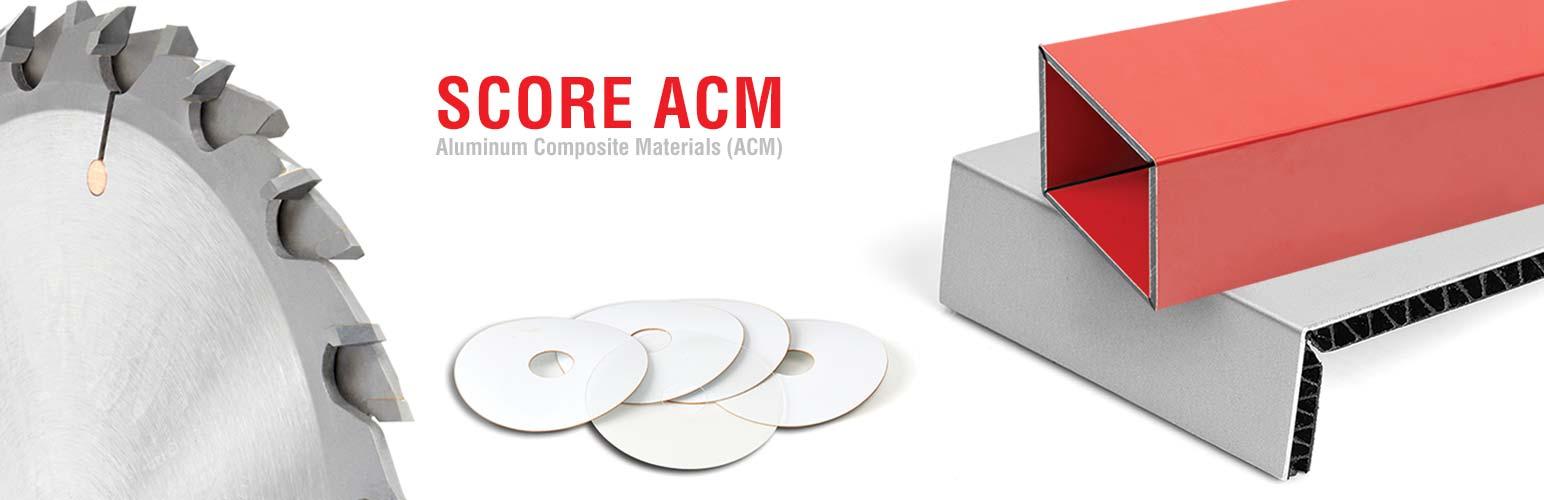 Aluminum Composite Material (ACM) Cutting Saw Blade Sets