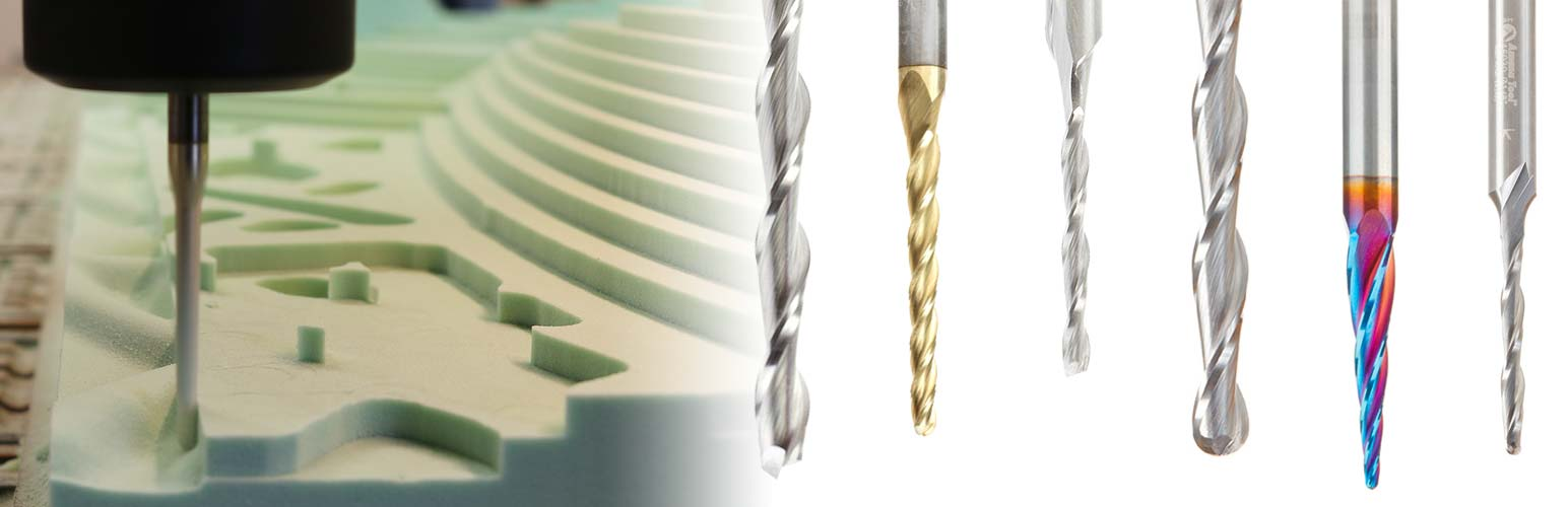Foam Cutting CNC Router Bits