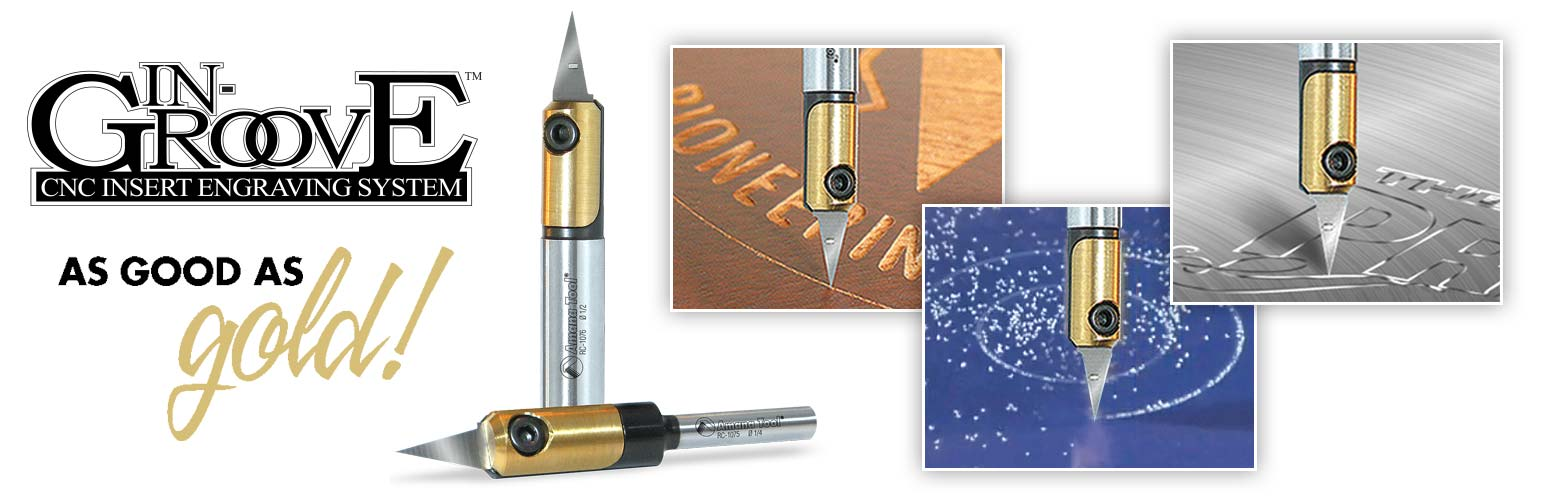 In-Groove Engraving System Router Bits