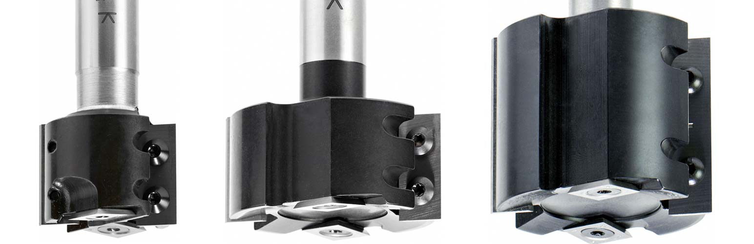 Rabbeting Insert Router Bits CNC