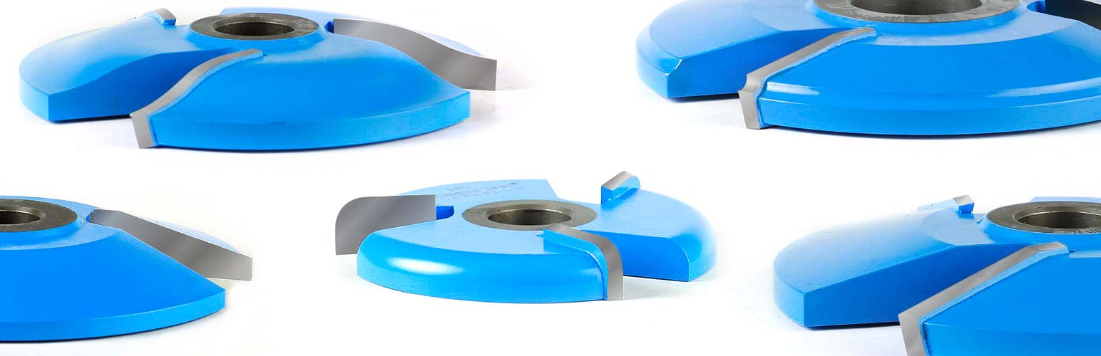 Carbide-Tipped Raised Panel Shaper Cutters