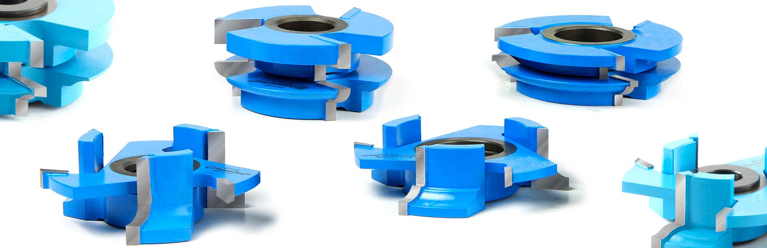 Carbide-Tipped Stile Rail Shaper Cutter Sets