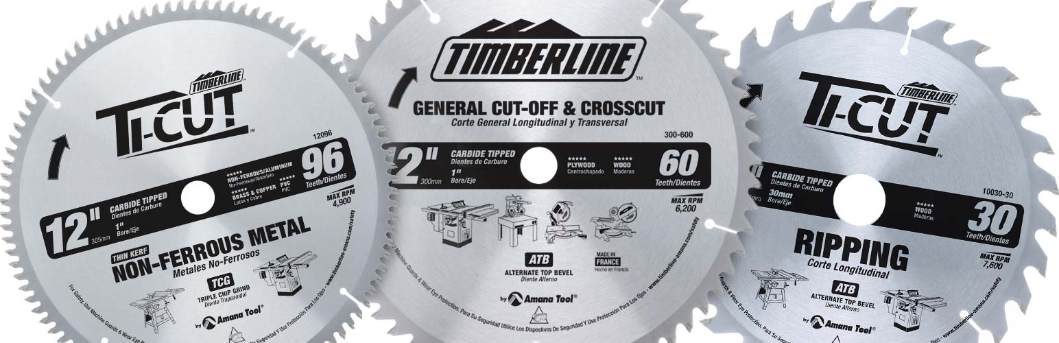 Contractor Blades for Stationary Machines-Thin Kerf