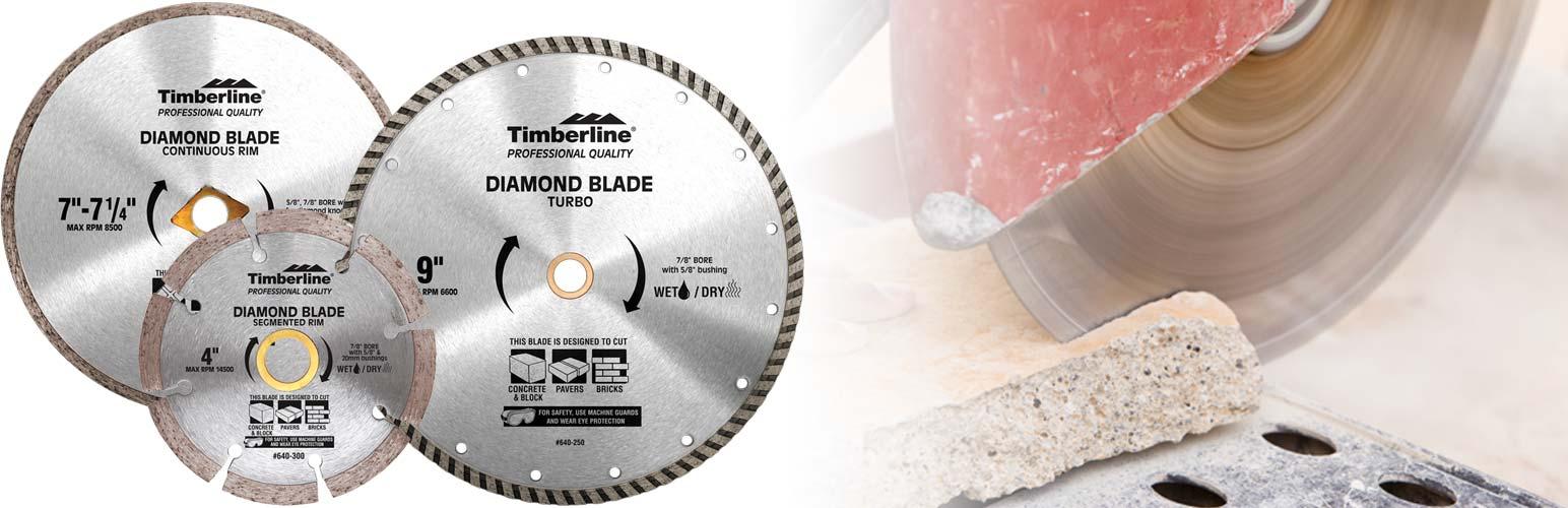 Diamond Saw Blades for Concrete and Masonry