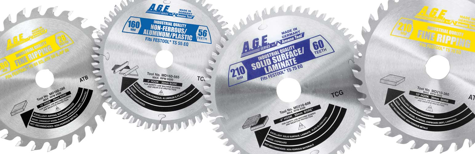 Festool and Other Track Saw Machine Compatible Saw Blades