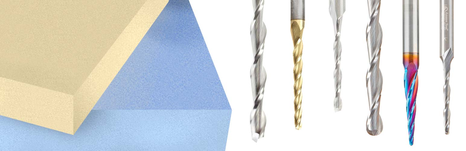 Foam Cutting Router Bits