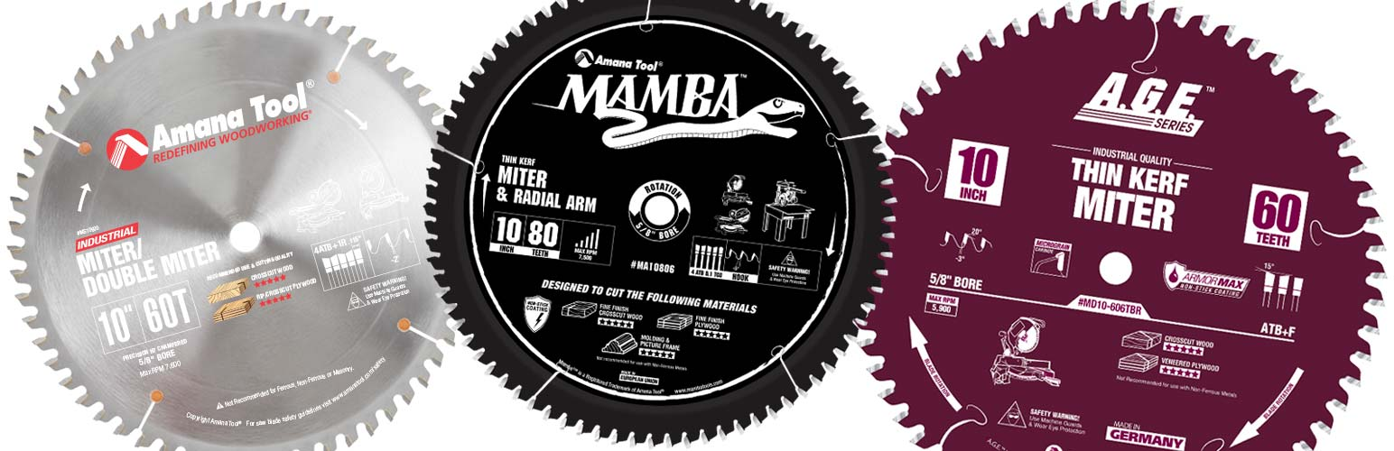 Miter Saw Blade Industrial Professional Contractor Miter Saw