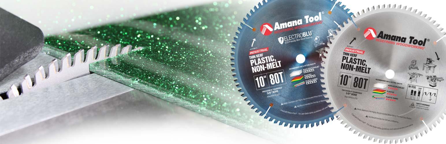 Non-Melt Plastic Cutting Saw Blades