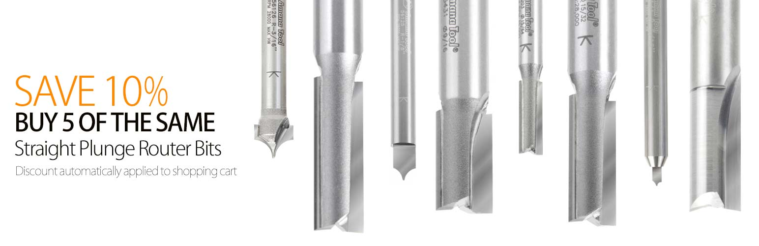 Plunge Router Bits