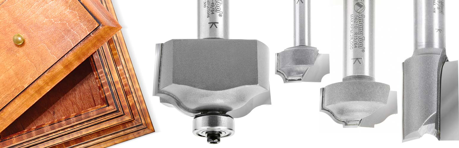 Stacking Boxes Router Bit Set