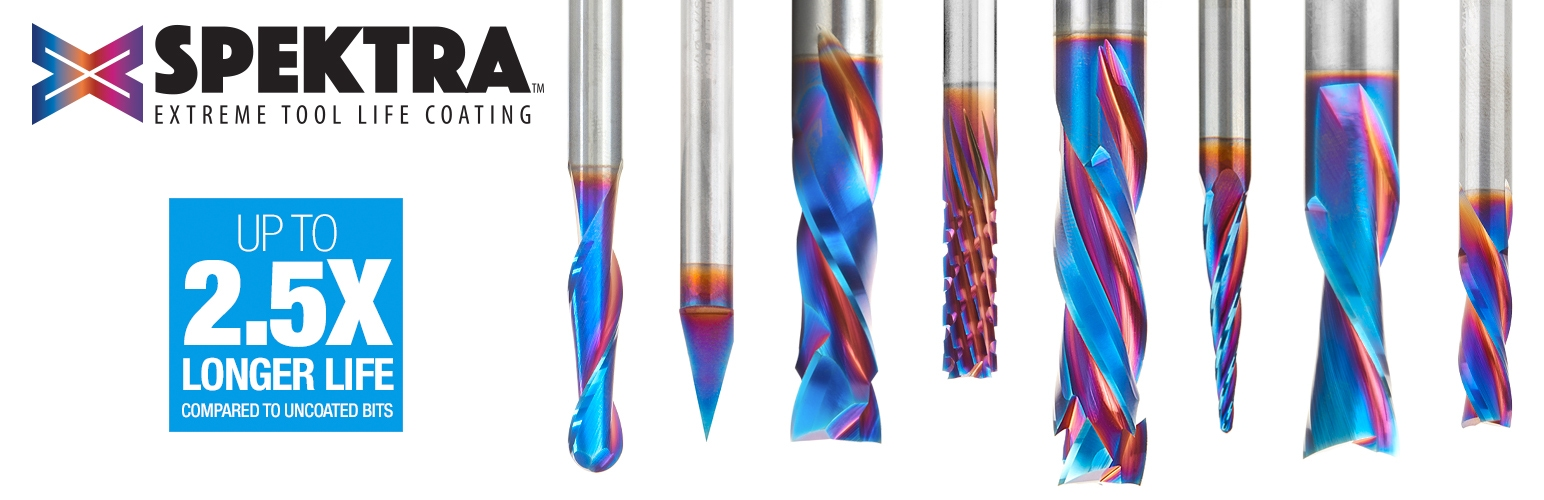 Spektra Extreme Life Coated Router Bits