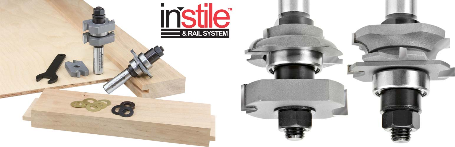 Stile and Rail Router Bits