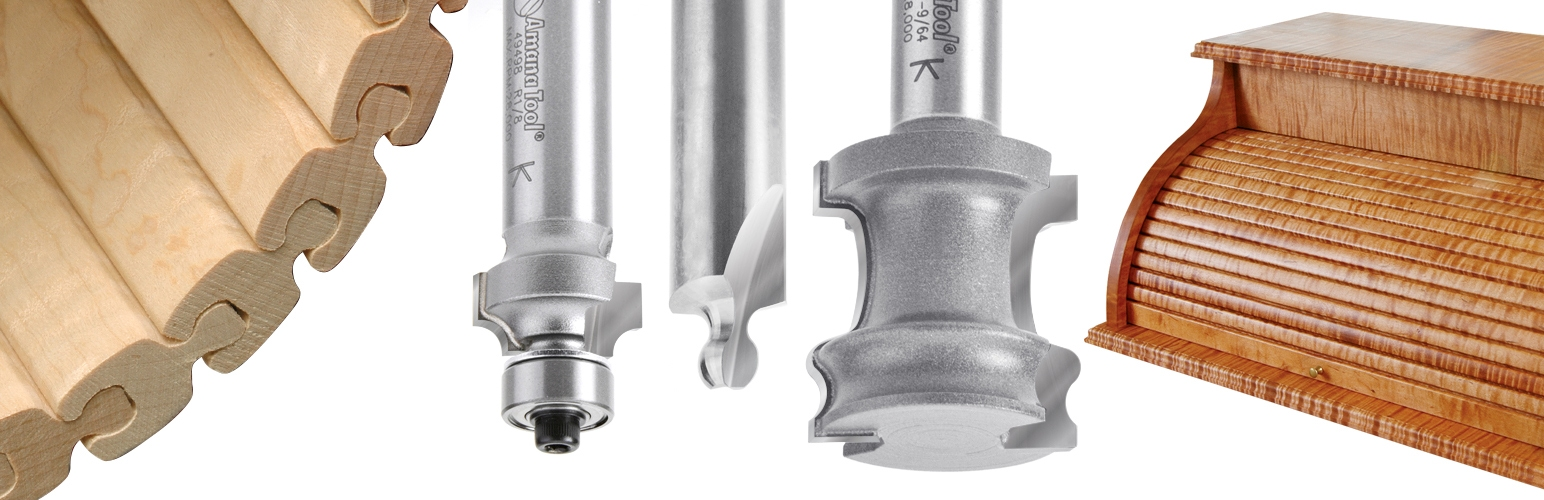 Tambour Router Bits