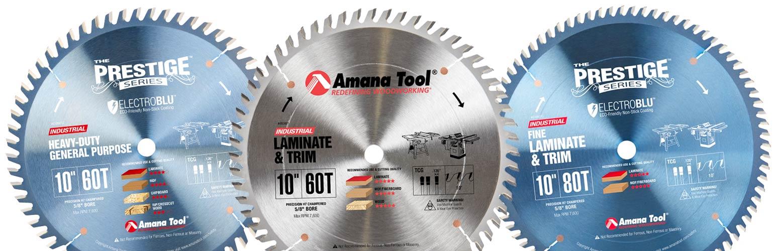 Laminate, Plywood, MDF & Chipboard Cutting Saw Bladess