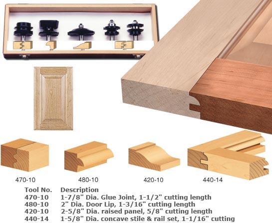 New Shaper Bits for Cabinet Doors