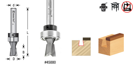 dovetail router bits. keller dovetail 7º router bit system - toolstoday.com industrial quality carbide tipped bits t