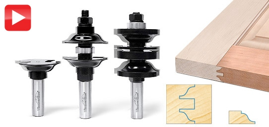 3 Piece Entry Passage Door Making Router Bit Set Toolstoday