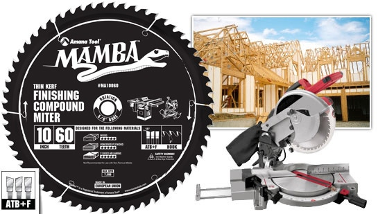 Mamba thin kerf finishing compound miter saw blade toolstoday mamba thin kerf finishing compound miter saw blade toolstoday contractor series saw blades greentooth Image collections