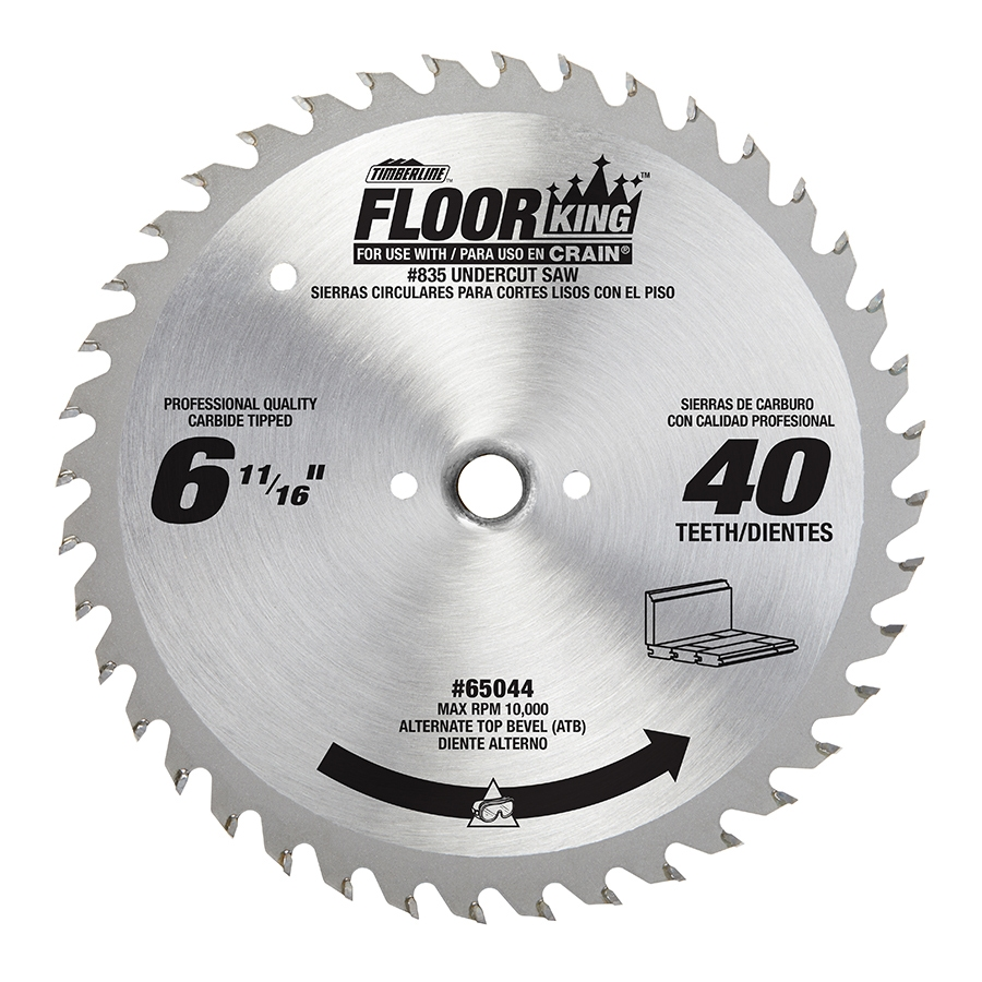 Floor King Carbide Tipped Saw Blades Comparable To Crain