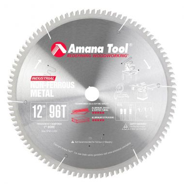 Amana Tool 512961 Carbide Tipped Aluminum and Non-Ferrous Metals cutting saw blade