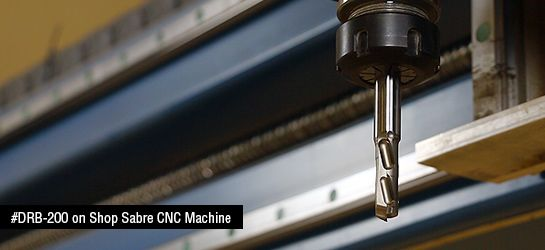 CNC Polycrystalline Diamond (PCD) Compression Router Bit Up/Down Shear with Carbide Plunge Point RH Rotation