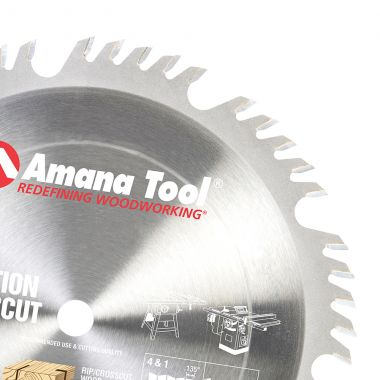 Amana Tool 610504 Carbide Tipped Combination Ripping and Crosscut 10 Inch D