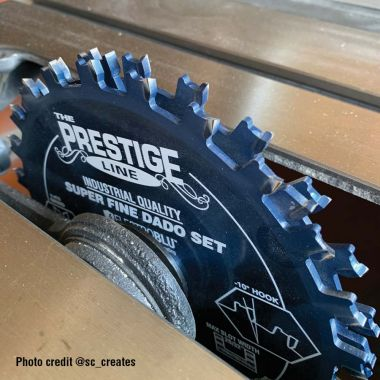 Amana Tool 658060C Electro-Blu Coated Carbide Tipped Prestige Dado Set