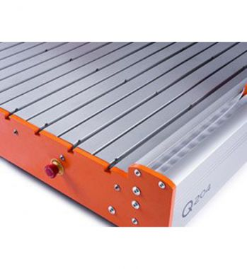 Shown with Optional Full Aluminum T-Slot Table
