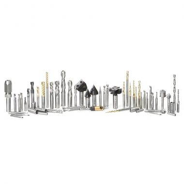 Amana Tool AMS-CNC-58 CNC Master Router Bit Collection Includes 58 SKUs and Plywood Veener Cabinet