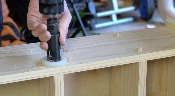 Carbide Tipped Plug Planer For Hand Drills and Drill Presses