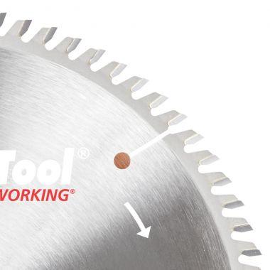 Amana Tool TB10800 Carbide Tipped Thin Kerf Trim 10 Inch D x 80T ATB, 10 Deg, 5/8 Bore, Circular Saw Blade