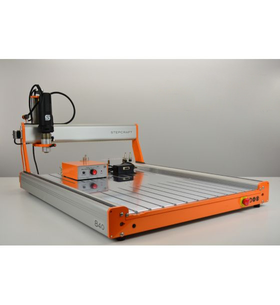 STEPCRAFT D.840 Milling CNC Machine Package (Fully-Assembled)
