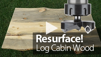 DIY Project: Surfacing Reclaimed Live Edge Coffee Table | ToolsToday