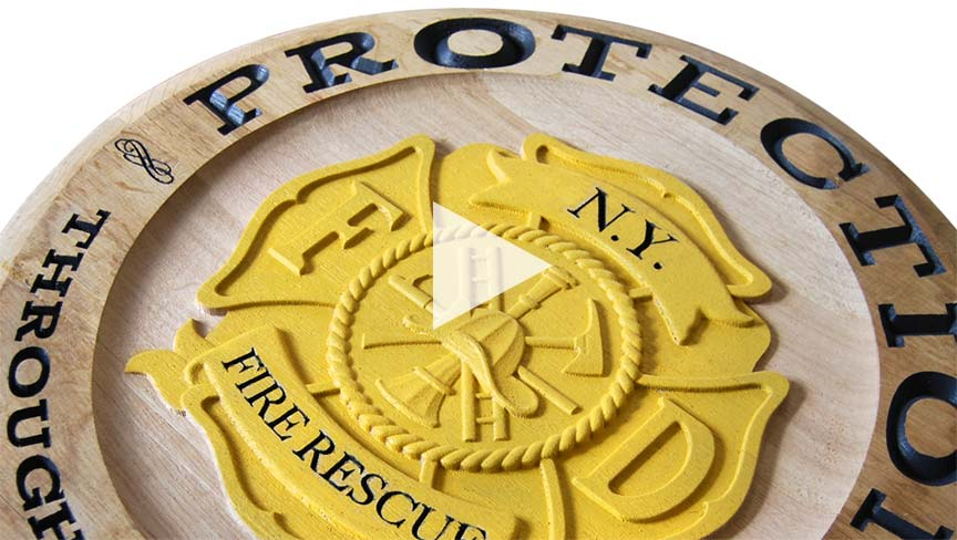 Whiskey Lid CNC Project Using Insert V-Groove & 3D Carving ZrN Coated Amana Tool Router Bits