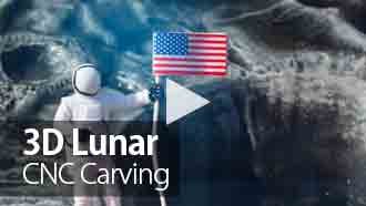 CNC Project: 3D Lunar Carving