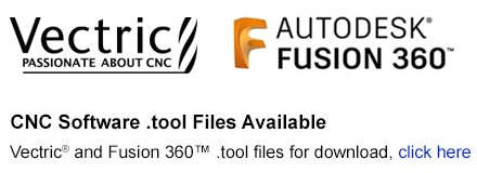 vectric fusion 360 tool file toolstoday