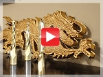 Golden Dragon 3D Foam CNC Project