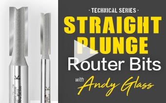 cnc video straight plunge tech series