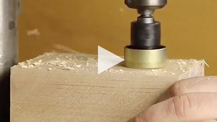 Amana Tool® #55227 Carbide Tipped, No-Mar Countersink
