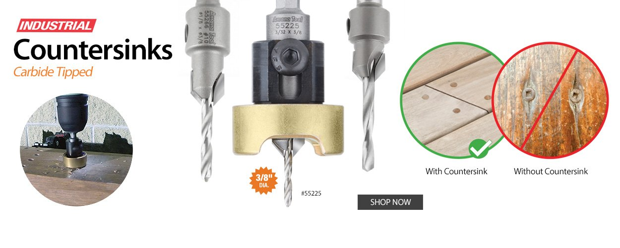 Carbide Tipped Countersinks