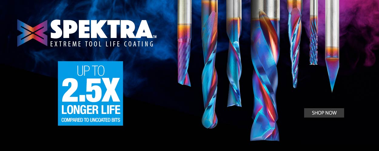 Spektra Coated Router Bits